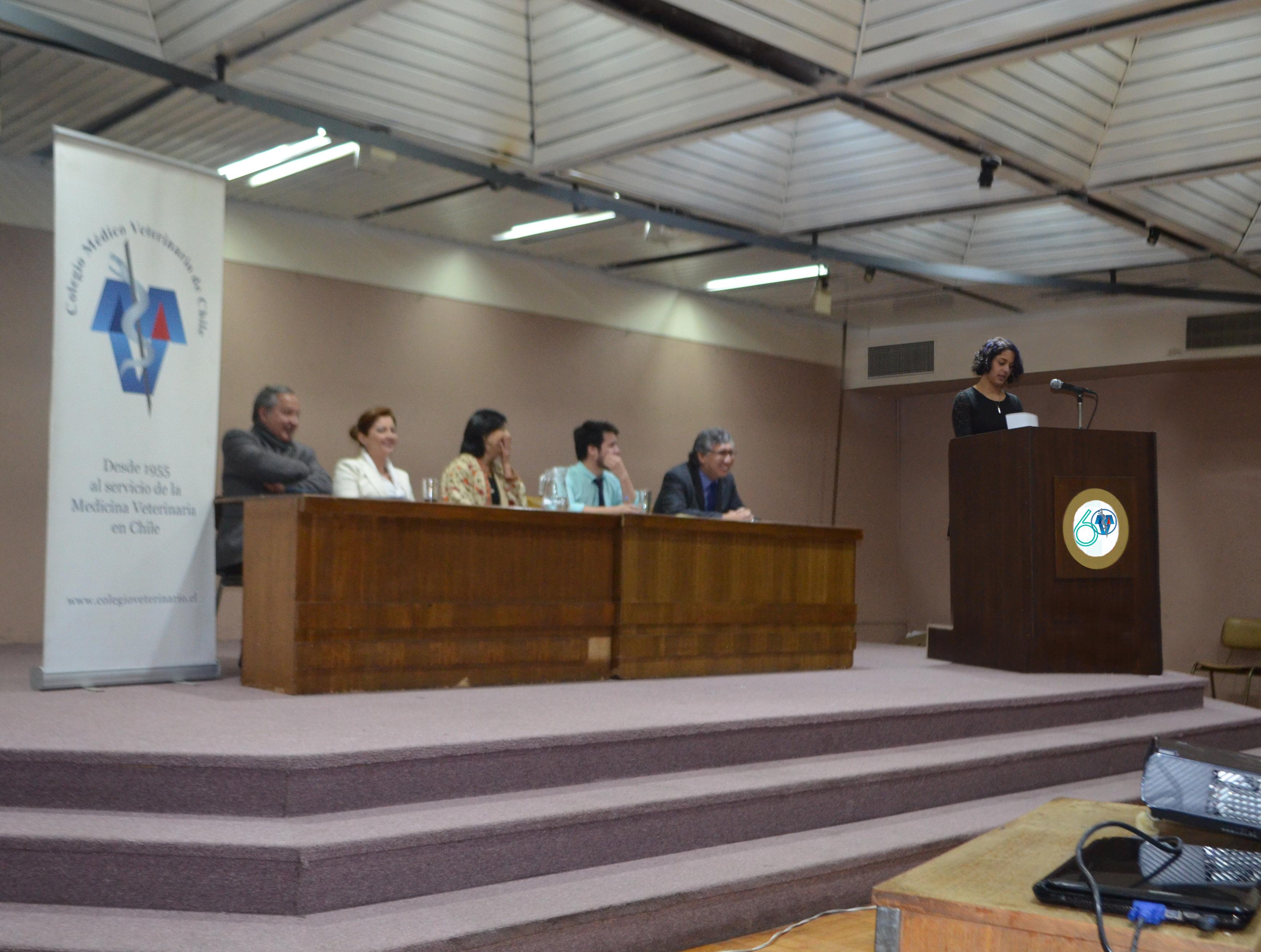 PREMIACION Y DISCURSO DE JAVIERA JARA, MEJOR TITULADO 2015  EN EL 60° ANIVERSARIO DE COLMEVET