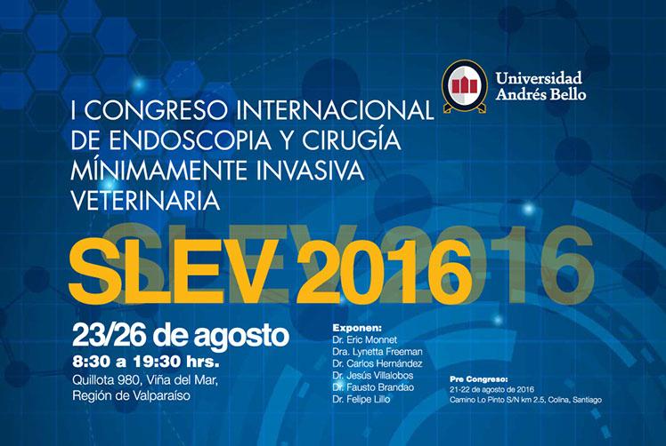 I Congreso Internacional de Endoscopia y Cirugía Mínimamente Invasiva Veterinaria SLEV 2016