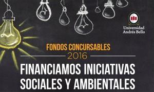 Fondo concursable de Responsabilidad Social y Sustentabilidad 2016