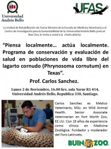 Afiche Charla Carlos Sanchez
