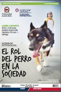 Afiche Rol del Perro en la sociedad