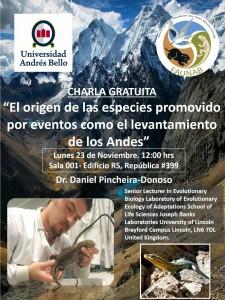 Charla Daniel Pincheira Donoso